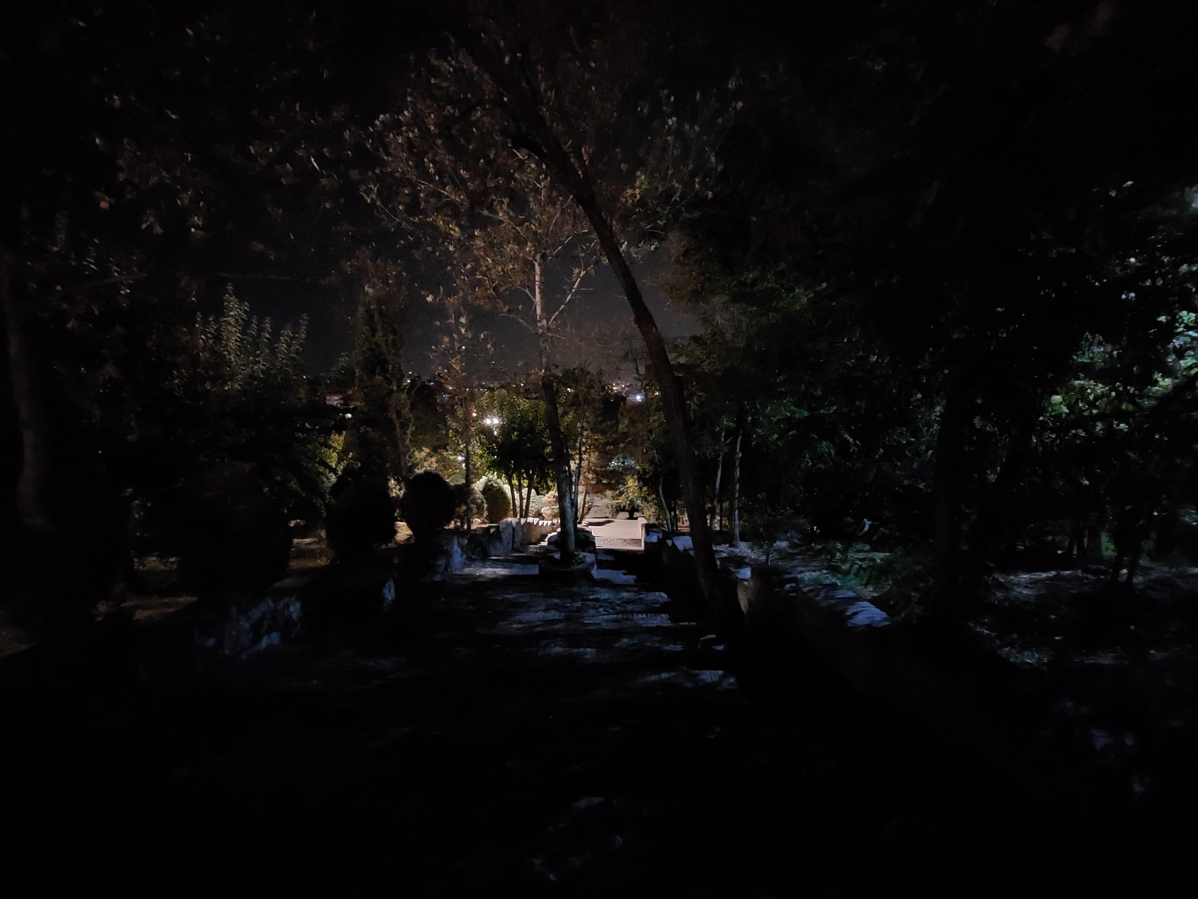 عکاسی در شب با گوشی A52s 5g سامسونگ