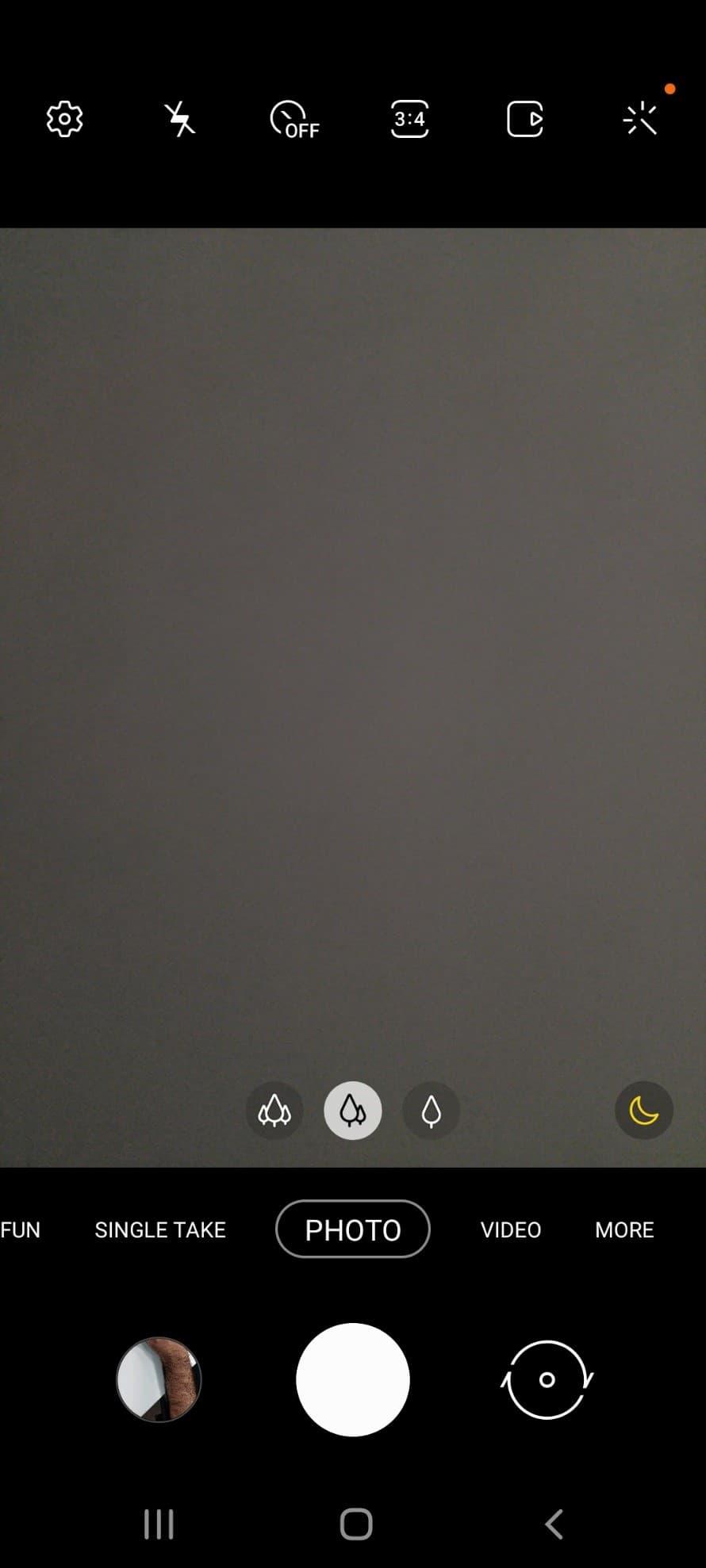 رابط کاربری دوربین گوشی A52s 5g