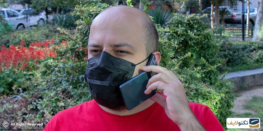پاسخ دادن به تماس با گوشی زد فلیپ 3