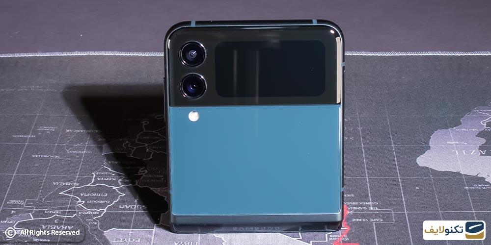 دوربین پشتی گوشی z flip 3