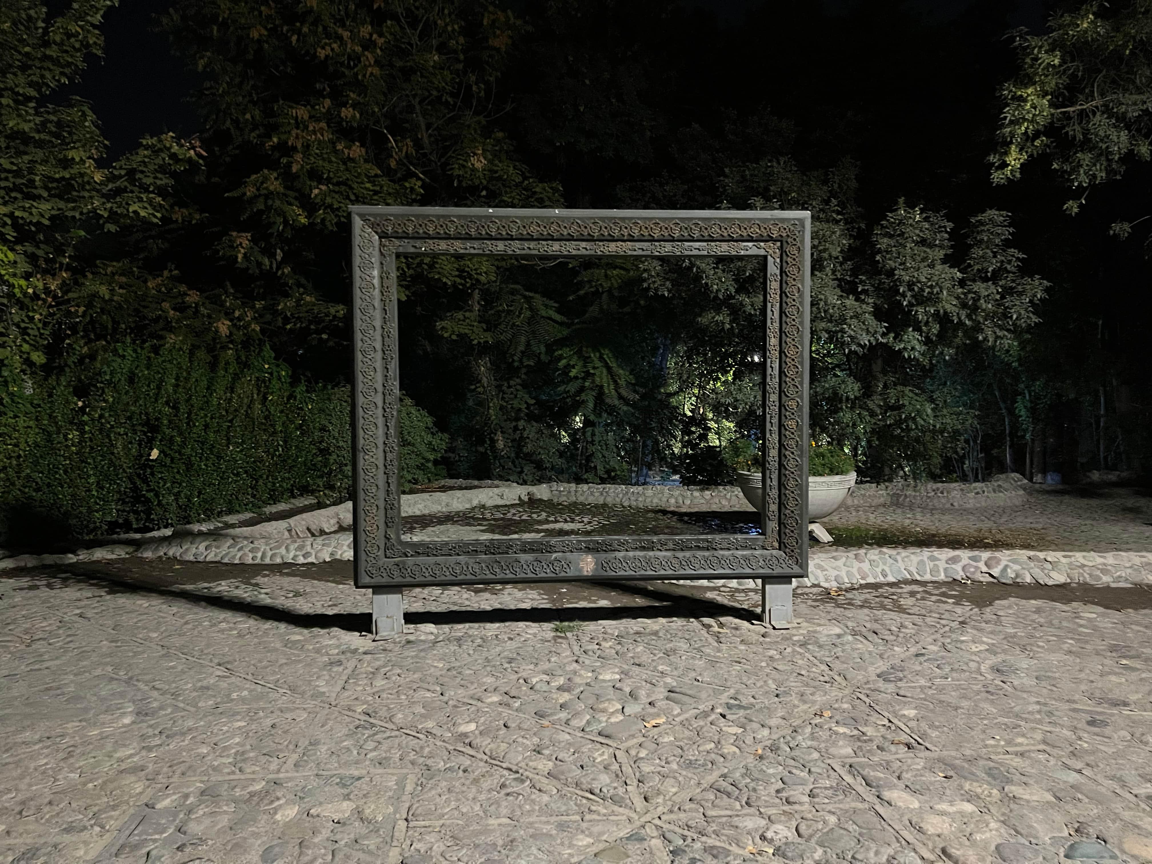 نمونه عکس دوربین ایفون 13 پرو در شب