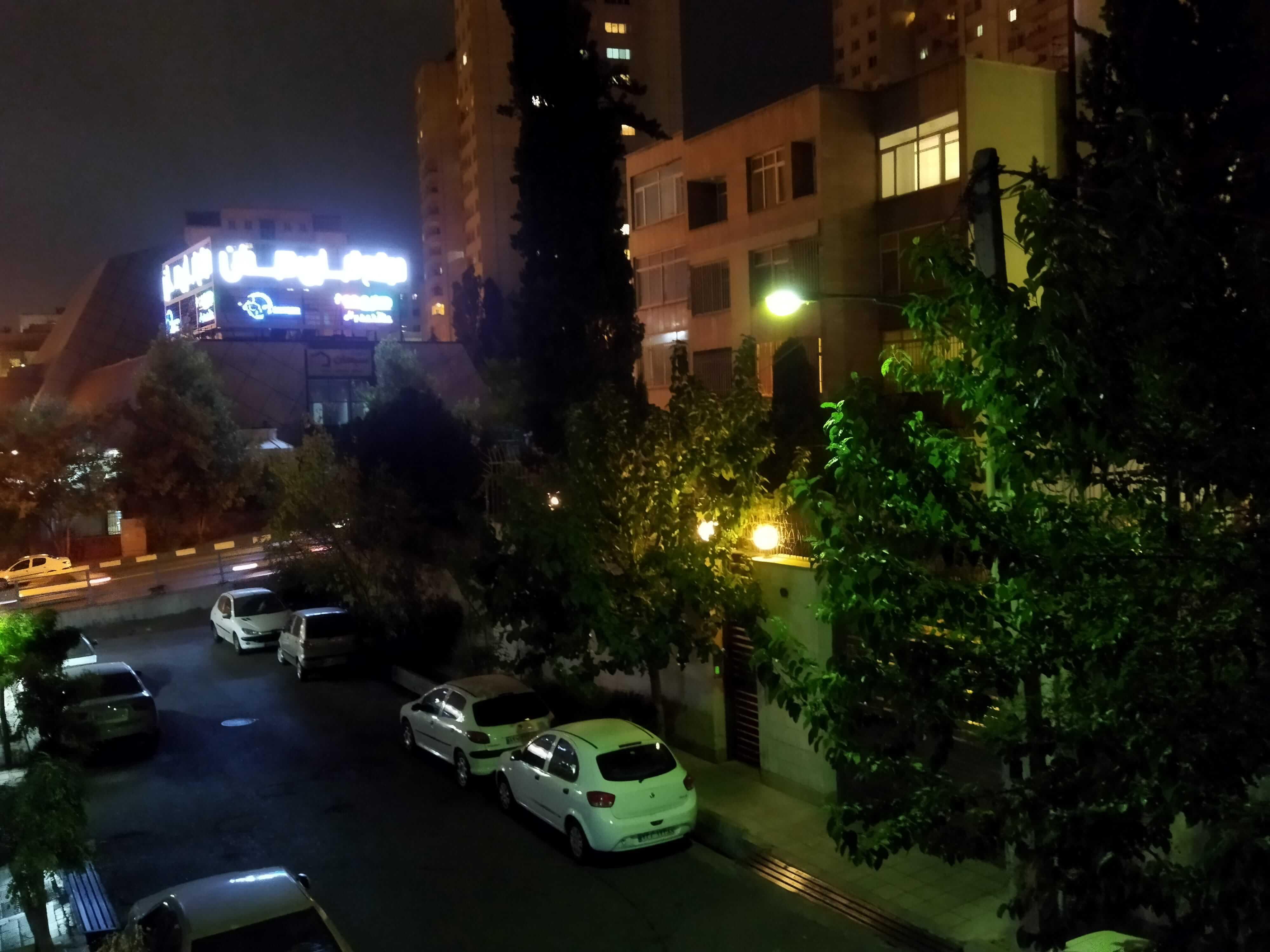عکاسی در شب با poco m3