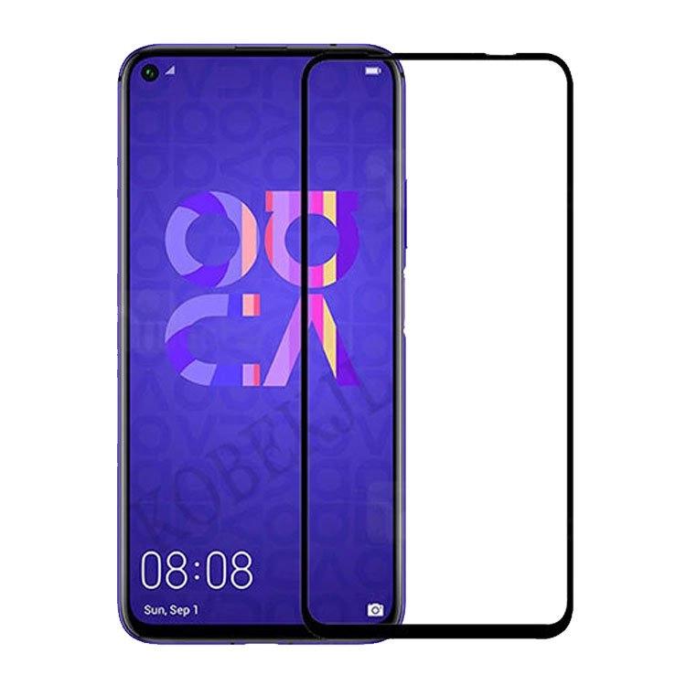 محافظ صفحه شیشه ای تمام چسب  گوشی Huawei Nova 5T
