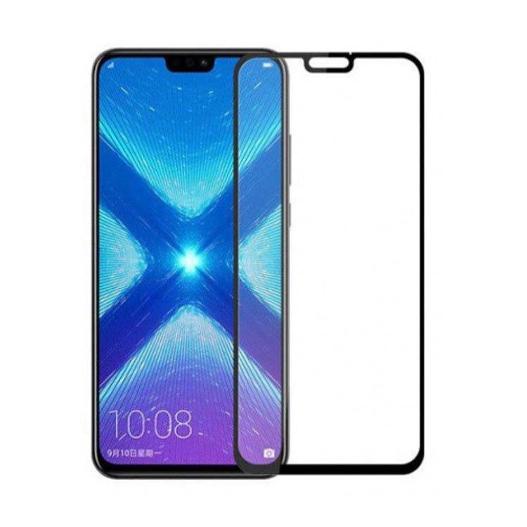 محافظ صفحه شیشه ای تمام چسب گوشی Honor 8x