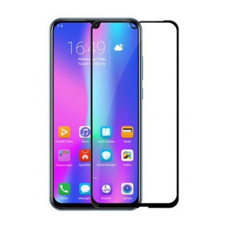 محافظ صفحه شیشه ای تمام چسب گوشی Honor 10 Lite