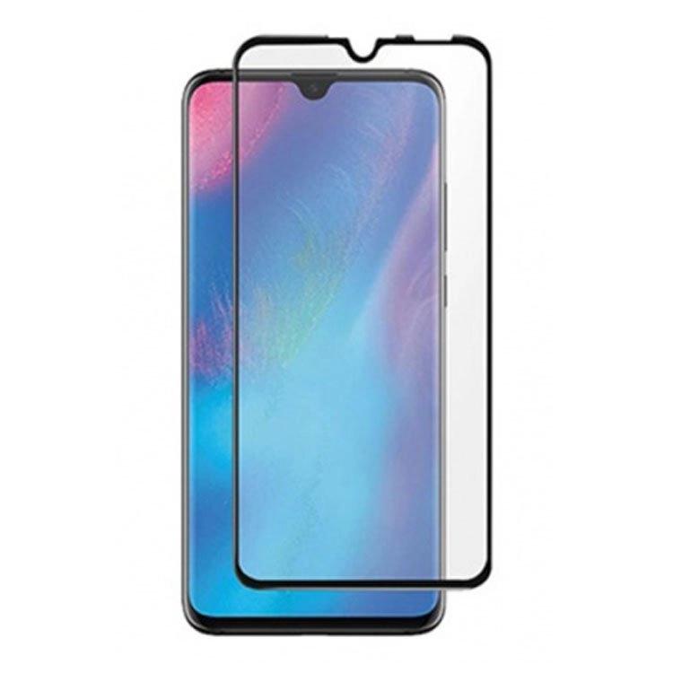 محافظ صفحه شیشه ای تمام چسب گوشی Huawei P30 Lite