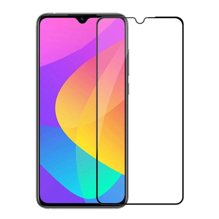 محافظ صفحه شیشه ای تمام چسب گوشی Xiaomi Mi 9 lite