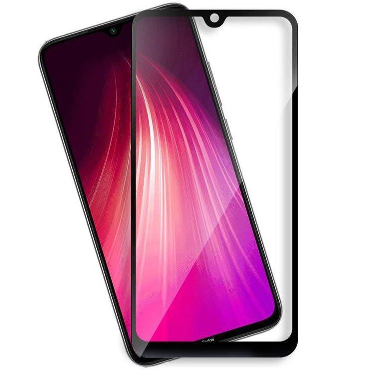 محافظ صفحه شیشه ای تمام چسب گوشی Xiaomi Note 8