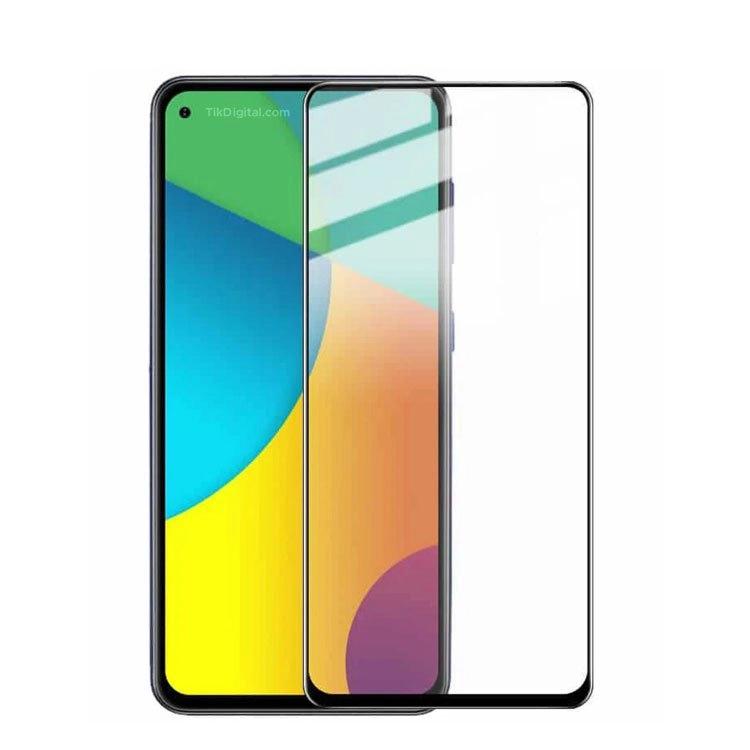 محافظ صفحه شیشه ای تمام چسب گوشی Samsung A60