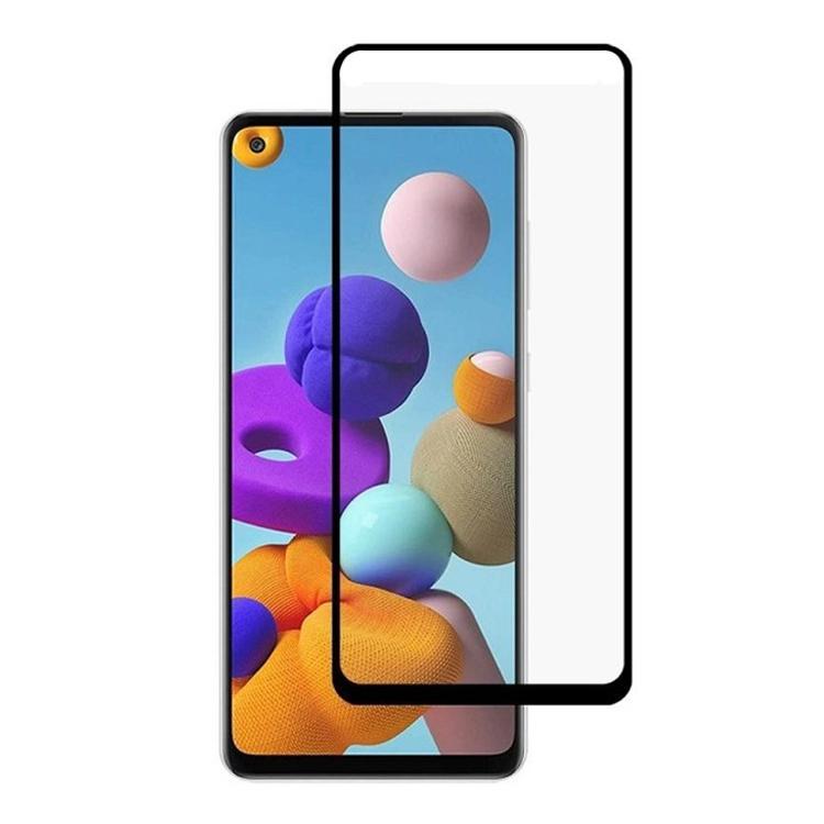 گلس سرامیکی گوشی سامسونگ Samsung Galaxy A21s مدل تمام صفحه