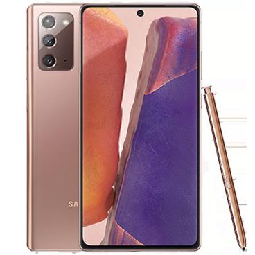گوشی موبايل سامسونگ مدل گلکسی نوت 20 5G دو سیم کارت - ظرفیت 256 گیگابایت - رم 8 گیگابایت