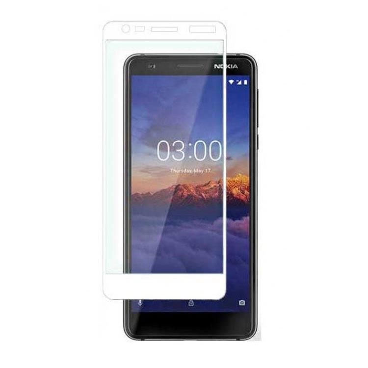محافظ صفحه شیشه ای تمام چسب نوکیا Nokia 3.1 2018