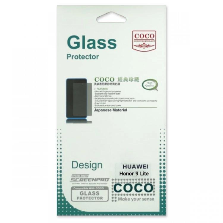 محافظ صفحه شیشه ای تخت (گلس) گوشی Honor 9 Lite مارک COCO