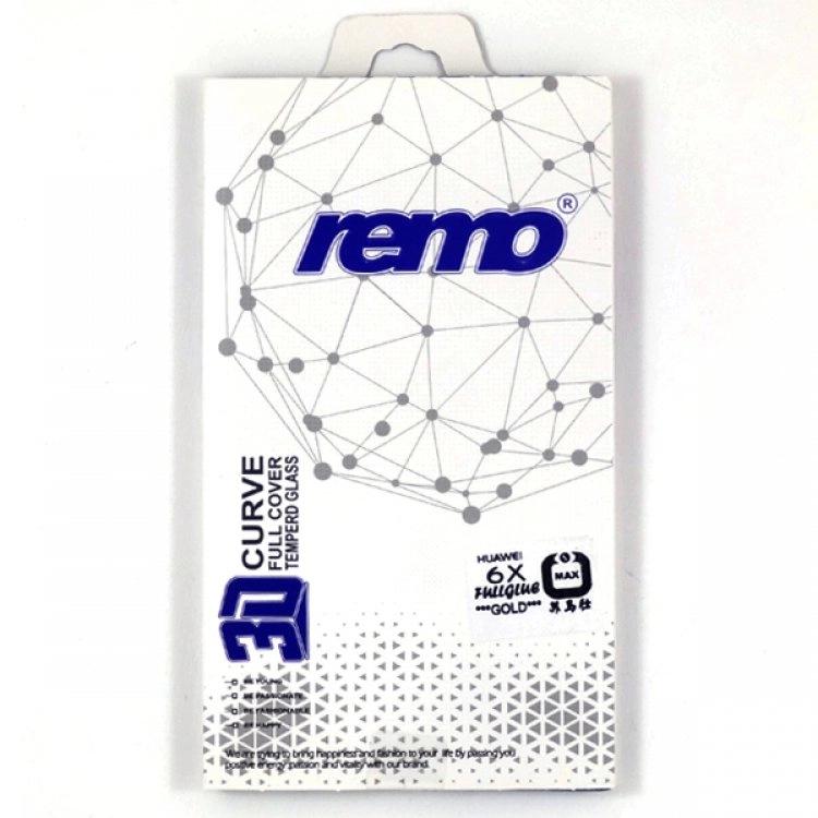 محافظ شیشهای (گلس) فول چسب 3D گوشی هوآوی Honor 6X مارک remo