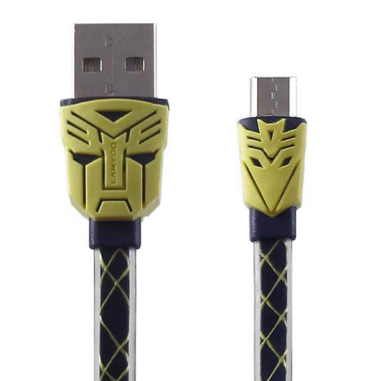 کابل Micro USB مدل LY-N02 برند لامیو