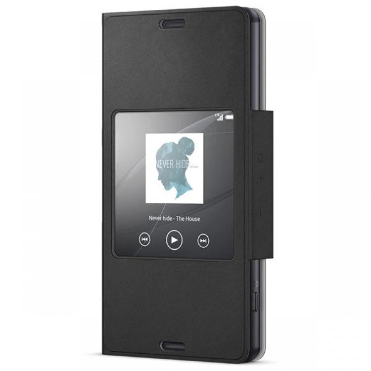 کاور (کیف) هوشمند برند سونی SCR26 برای گوشی Xperia Z3 Compact