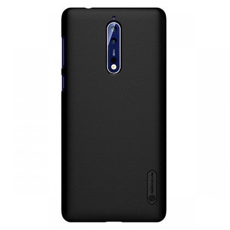 قاب پلی کربنات Nokia 8 - مارک Nillkin به همراه برچسب محافظ صفحه