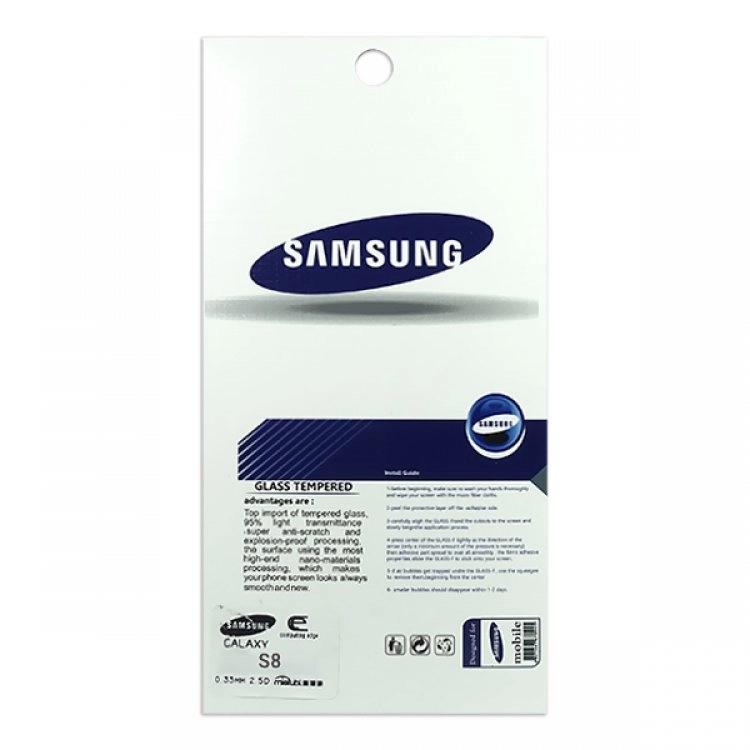 محافظ صفحه شيشهای تخت (گلس) گوشی سامسونگ Galaxy S8 مارک TESLA
