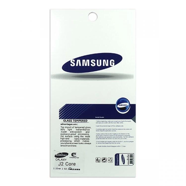 محافظ صفحه شيشهای تخت (گلس) گوشی سامسونگ Galaxy J2 Core مارک TESLA