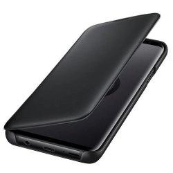 کیف کلاسوری طرح چرم گوشی سامسونگ Galaxy S9 Plus