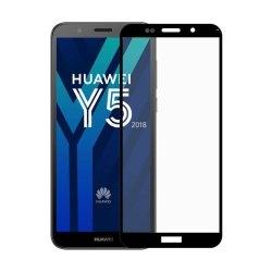 محافظ صفحه شیشه ای تمام چسب گوشی Huawei Y5 prime 2018