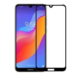 محافظ صفحه شیشه ای تمام چسب گوشی Huawei Y6 prime 2019/y6 2019