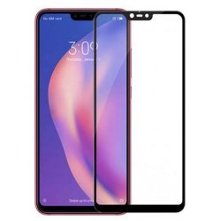 محافظ صفحه شیشه ای تمام چسب گوشی Xiaomi Mi 8
