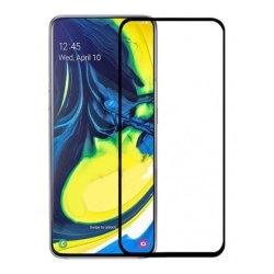 محافظ صفحه شیشه ای تمام چسب گوشی Samsung A80
