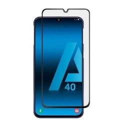 محافظ صفحه شیشه ای تمام چسب گوشی Samsung A40
