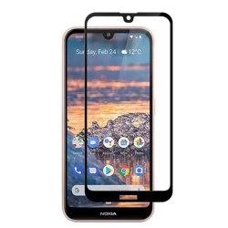 محافظ صفحه شیشه ای تمام چسب گوشی Nokia 2.2