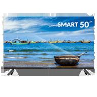 تلویزیون ال ای دی هوشمند اسنوا مدل SSD-50SA620U سایز 50 اینچ