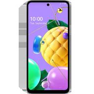 گوشی موبایل الجی مدل K52 دو سیم کارت - ظرفیت 64 گیگابایت - رم 4 گیگابایت