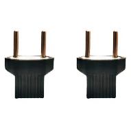 مبدل برق 2 به 2 آیوا مدل 01 بسته 2 عددی