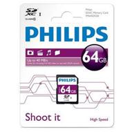 کارت حافظه فیلیپس SD Card 64GB FM64SD55B