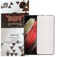 محافظ صفحه نمایش 5D بوف گوشی سامسونگ Galaxy S21 Ultra مدل Silicone