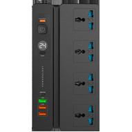 چند راهی هوشمند برق پاورولوجی مدل Powerology Multi-Port Socket 2M