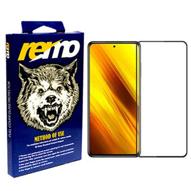 محافظ شیشهای (گلس) فول مارک remo گوشی شیائومی Poco X3 NFC/ Poco X3 Pro