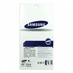 محافظ صفحه شيشهای تخت (گلس) گوشی سامسونگ Galaxy A8 2018 مارک TESLA