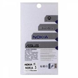 محافظ صفحه شيشهای تخت (گلس) گوشی Nokia 3 مارک TESLA