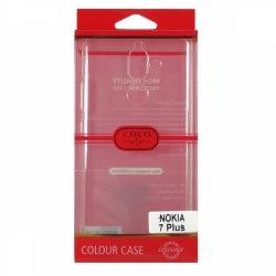 قاب ژلهای شفاف گوشی Nokia 7 Plus مارک COCO