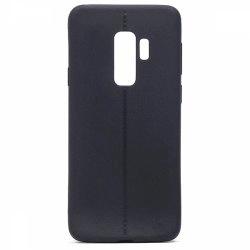 قاب سیلیکونی طرح چرم گوشی سامسونگ Galaxy S9 Plus