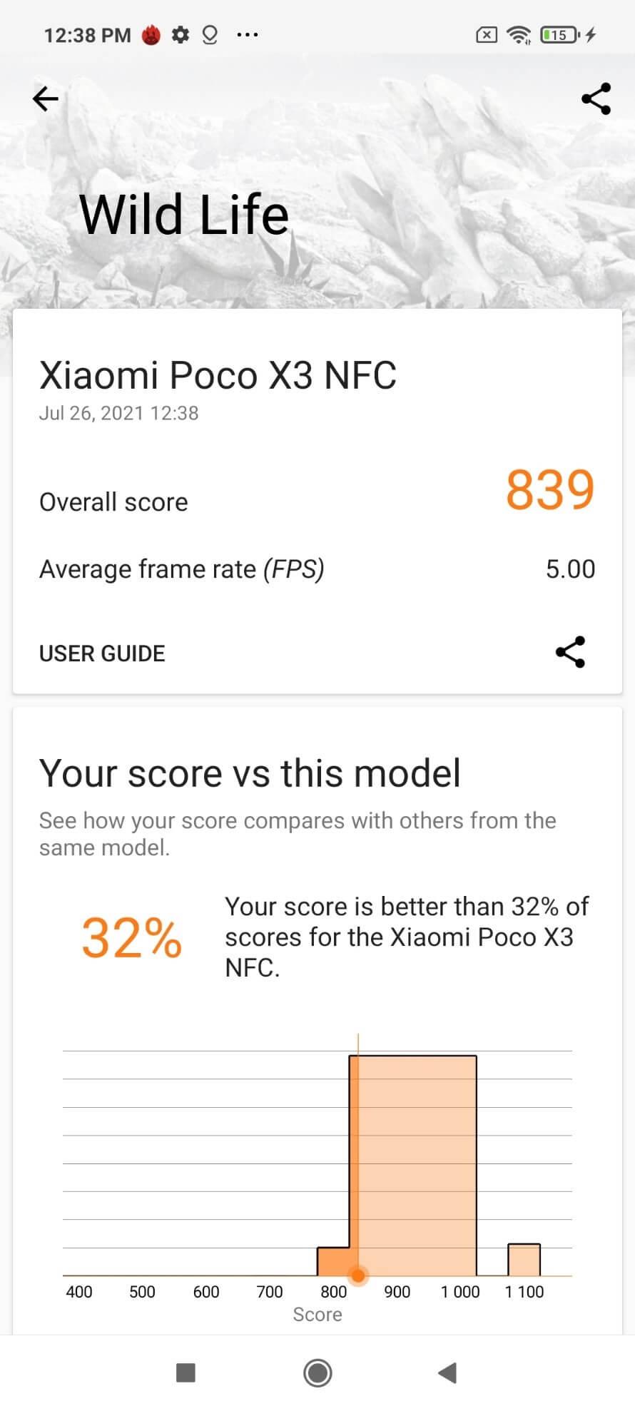 poco x3 nfc benchmark