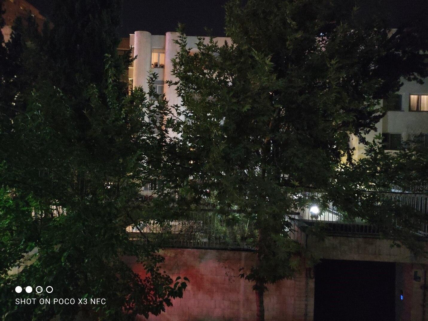 عکس در شب پوکو ایکس 3