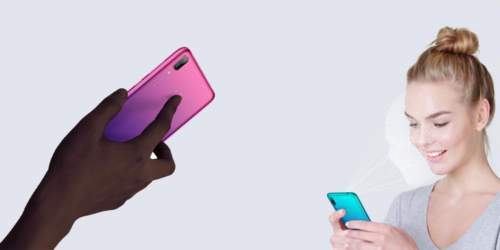 امنیت گوشی هوآوی Y7 Prime 2019