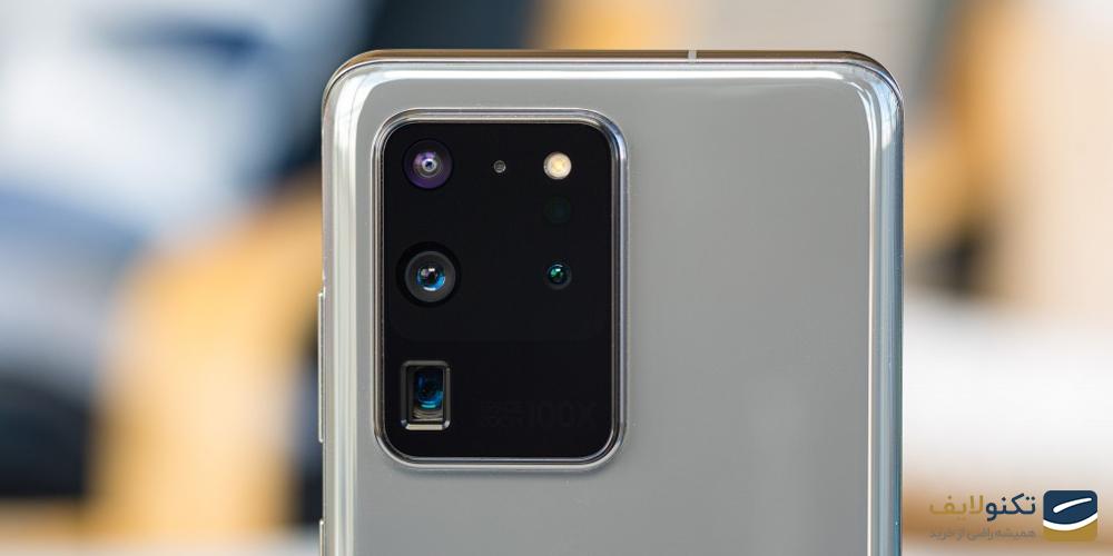 دوربین گوشی موبايل سامسونگ مدل گلکسی S20 Ultra 5G