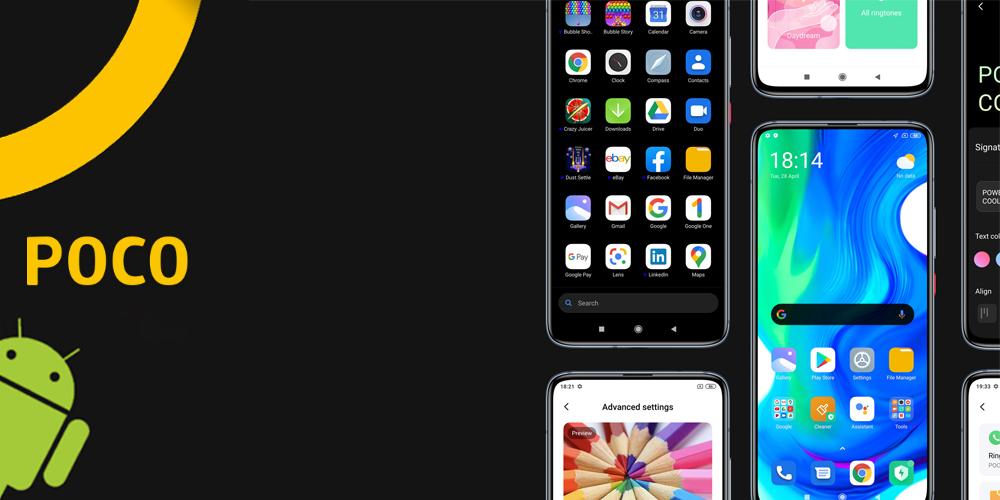 رابط کاربری و اندروید گوشی موبایل شیائومی Poco F2 Pro