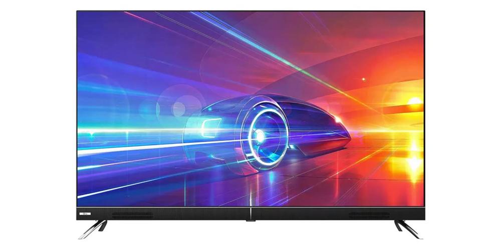 نمایشگر تلویزیون ال ای دی هوشمند جی پلاس مدل GTV-55KU722S سایز 55 اینچ