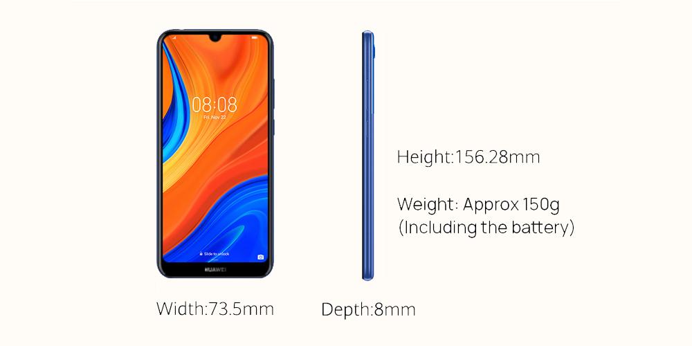 طراحی گوشی موبايل هواوی مدل Y6s 2019