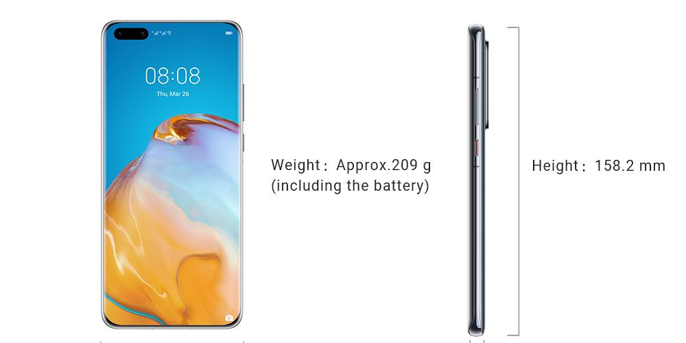 طراحی گوشی هوآوی P40 Pro