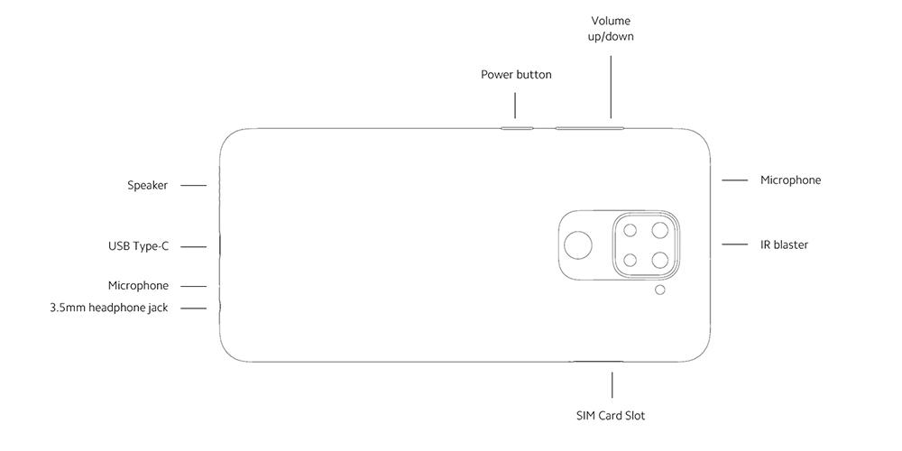 طراحی گوشی Xiaomi Redmi Note 9